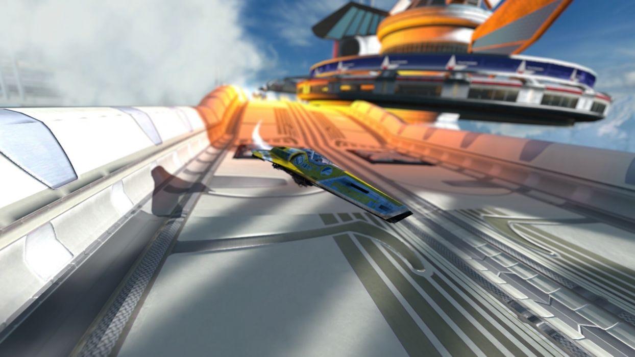 games futuristic wipeout wallpaper