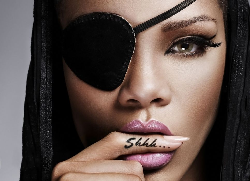 girl beauty eyes lips celebrity rihanna wallpaper