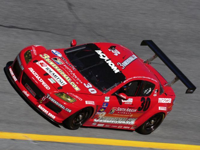 2008 Mazdaspeed RX-8 Grand-Am G-T mazda race racing supercar supercars wallpaper