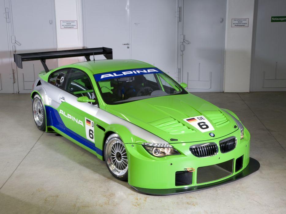 2009 Alpina B6 GT3 Coupe race racing bmw b-6   r wallpaper
