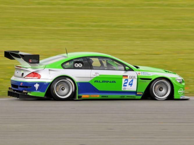 2009 Alpina B6 GT3 Coupe race racing bmw b-6 h wallpaper