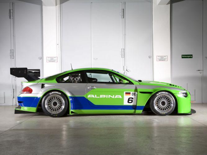 2009 Alpina B6 GT3 Coupe race racing bmw b-6 wallpaper