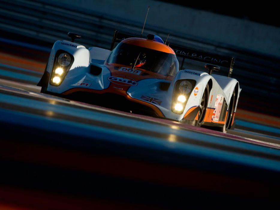 2009 Aston Martin LMP1 race racing      f wallpaper