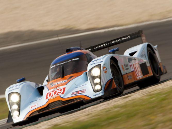 2009 Aston Martin LMP1 race racing fe wallpaper