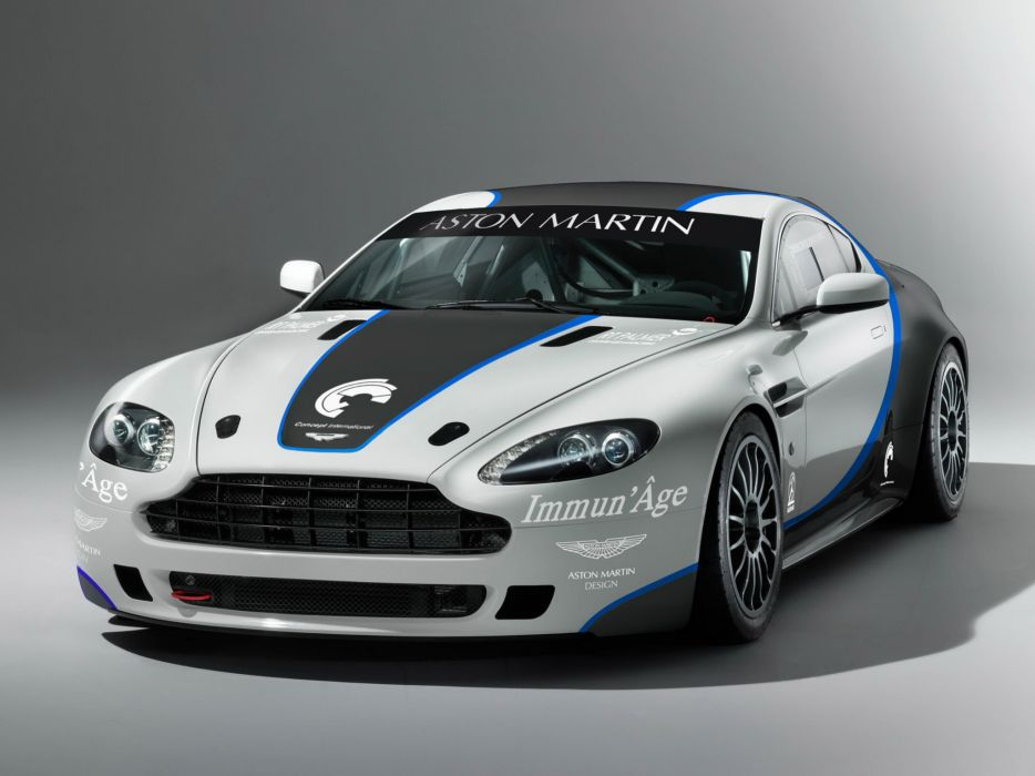 2009 Aston Martin V-8 Vantage GT4 race racing f wallpaper