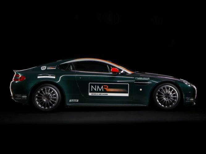 2009 Aston Martin V-8 Vantage GT4 race racing wallpaper