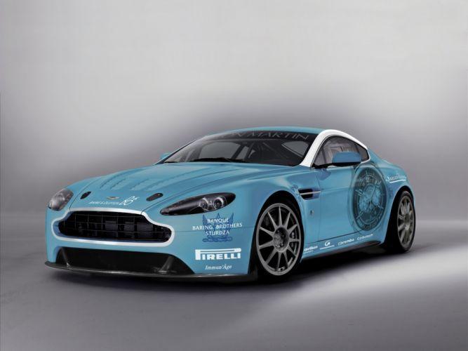 2009 Aston Martin V12 Vantage race racing tuning wallpaper