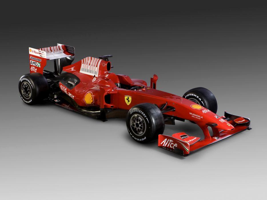 2009 Ferrari F60 formula one formula-1 f-1 race racing   d wallpaper