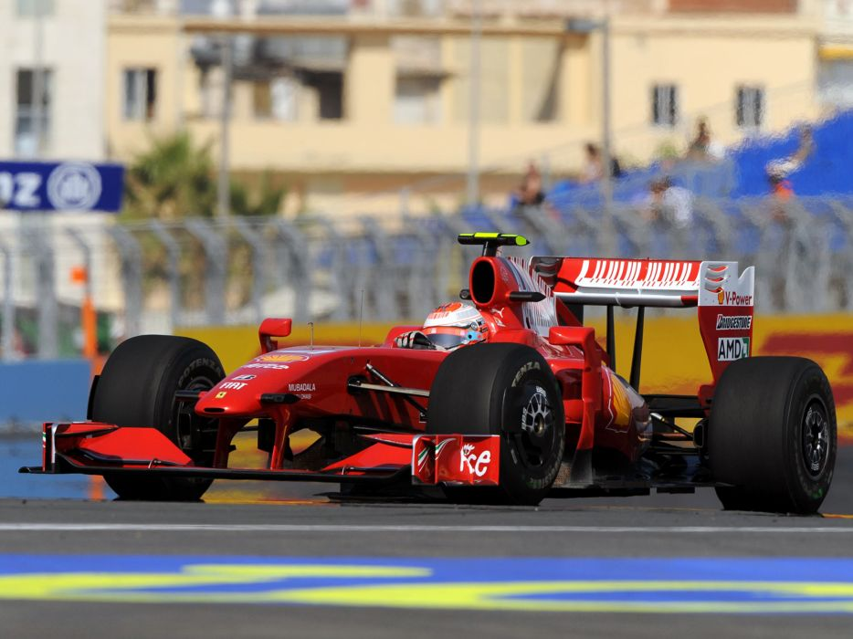 2009 Ferrari F60 formula one formula-1 f-1 race racing  g wallpaper