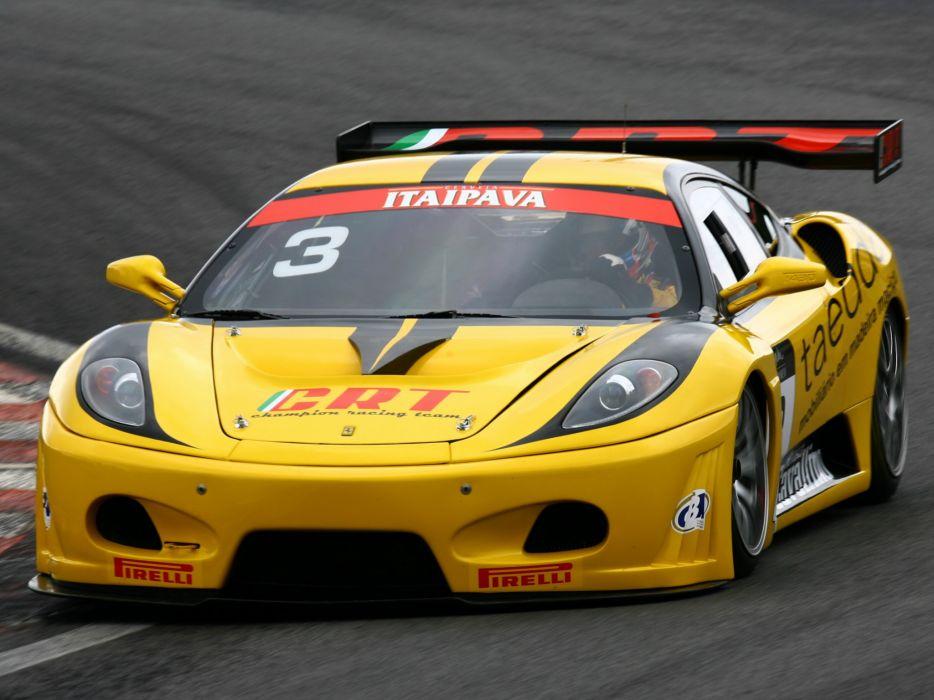 2009 Ferrari F430 G-T race racing supercar supercars   g wallpaper