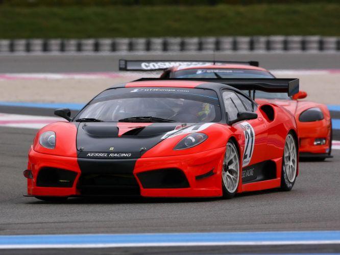 2009 Ferrari F430 Scuderia GT3 race racing supercar supercars f wallpaper