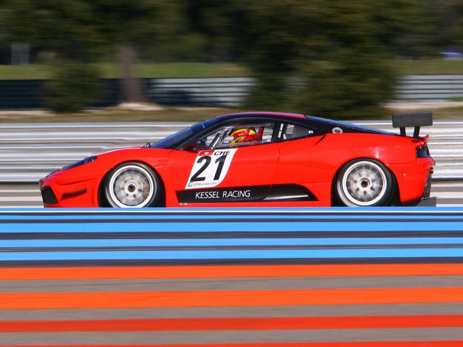 2009 Ferrari F430 Scuderia GT3 race racing supercar supercars   fe wallpaper