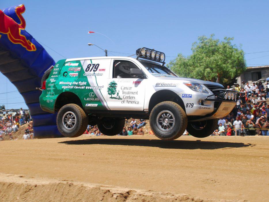 2009 Lexus LX-570 Baja truck awd offroad race racing suv wallpaper