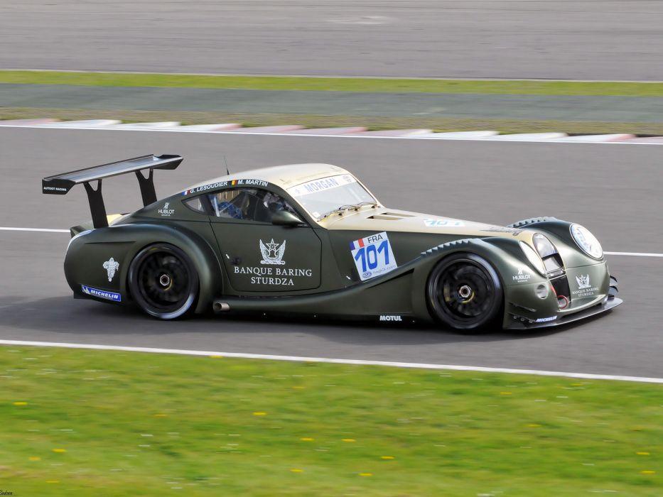 2009 Morgan Aero Super Sport GT3 race racing supercar supercars wallpaper