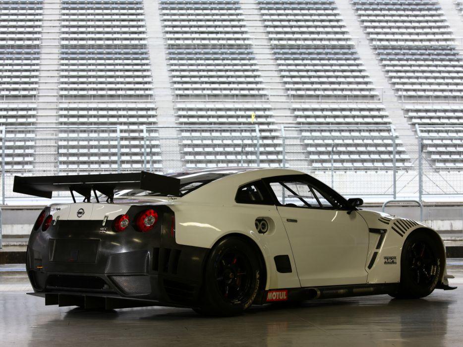 2009 Nissan GT-R FIA GT1 R35 race racing supercar supercars   h wallpaper