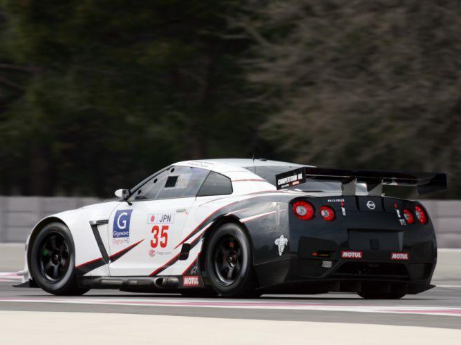 2009 Nissan GT-R FIA GT1 R35 race racing supercar supercars fa wallpaper