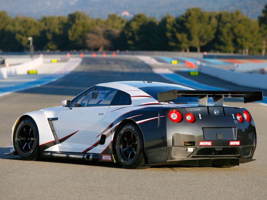 2009 Nissan GT-R FIA GT1 R35 race racing supercar supercars g wallpaper