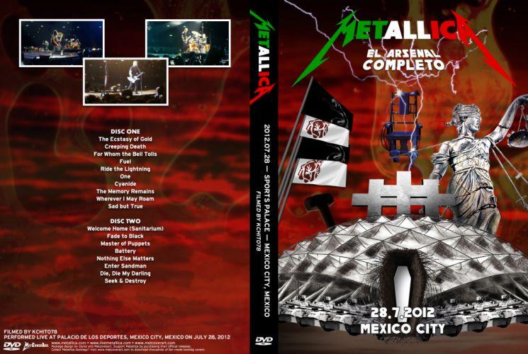 METALLICA thrash heavy metal rq wallpaper
