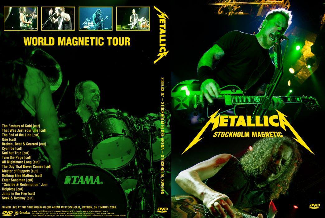 METALLICA thrash heavy metal     ws wallpaper