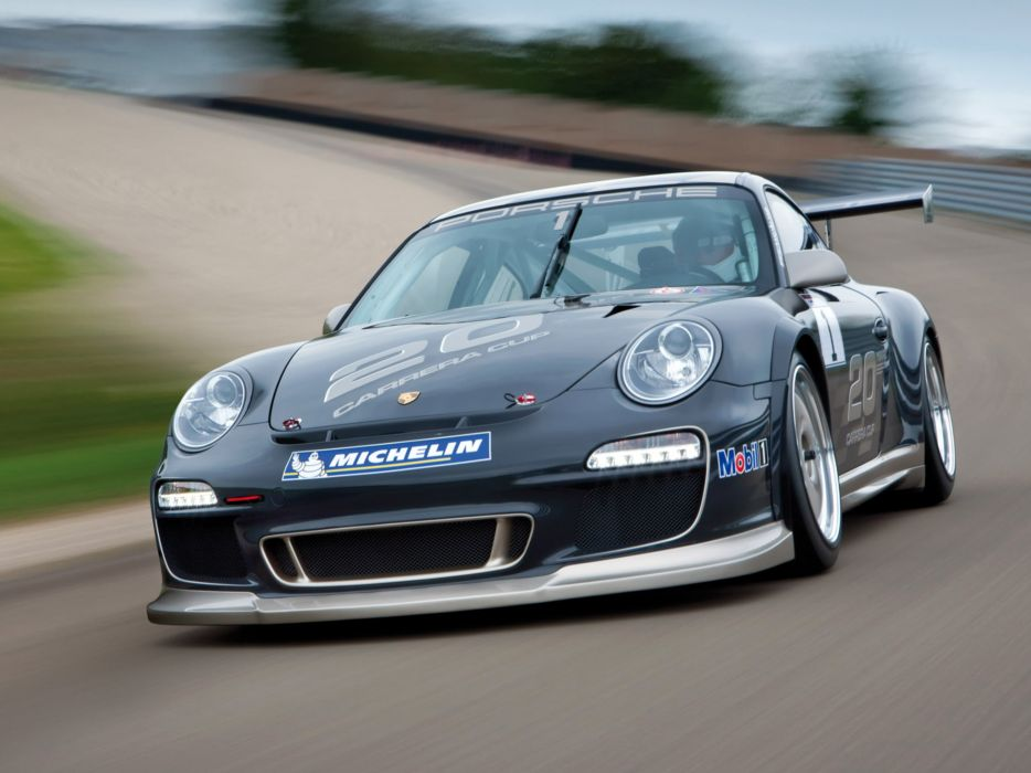 2009 Porsche 911 GT3 Cup 997 race racing    d wallpaper