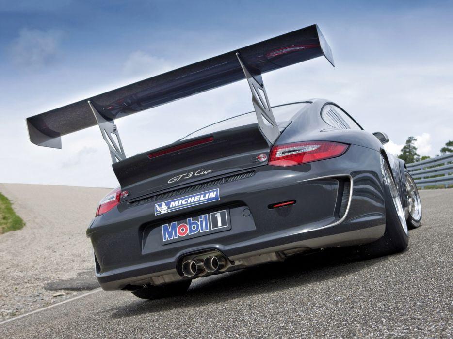 2009 Porsche 911 GT3 Cup 997 race racing   ds wallpaper