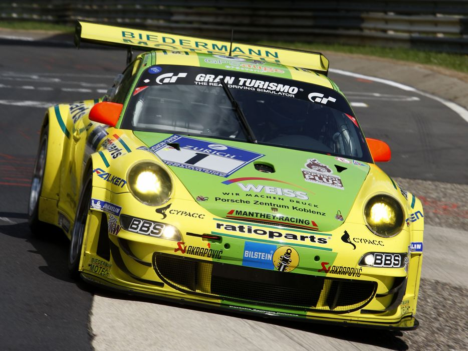2009 Porsche 911 GT3 RSR 997 race racing       f wallpaper