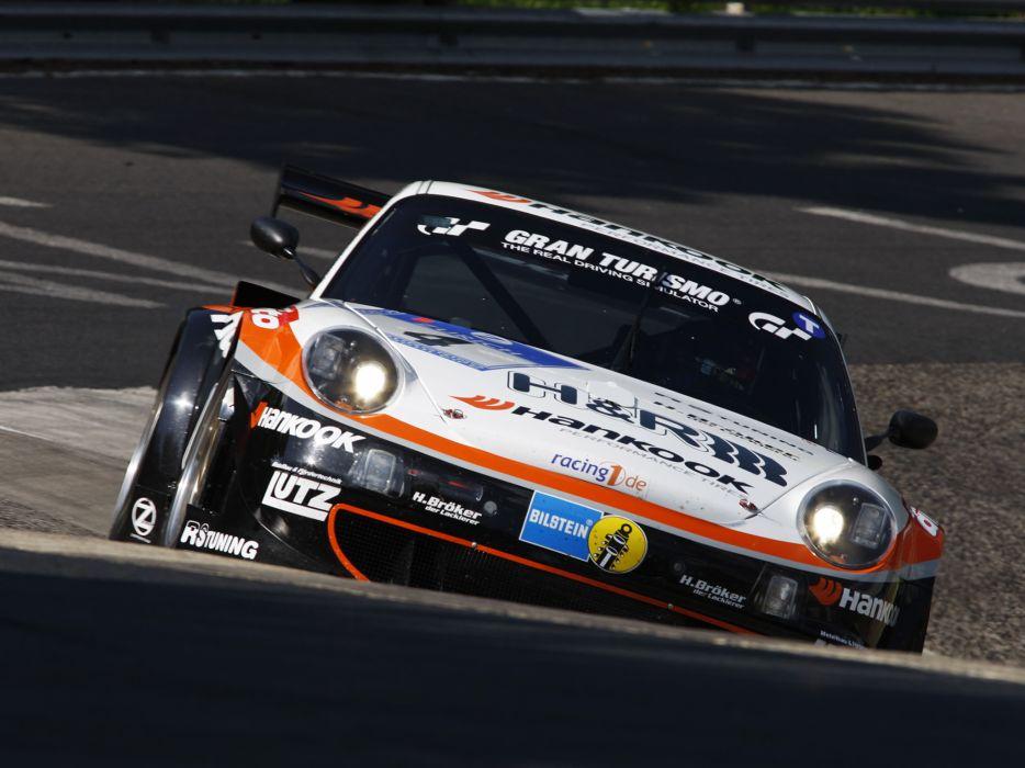 2009 Porsche 911 GT3 RSR 997 race racing    f wallpaper