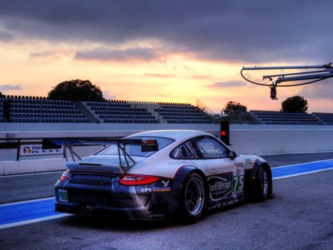 2009 Porsche 911 GT3 RSR 997 race racing wallpaper