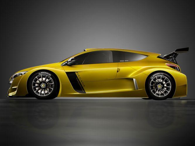 2009 Renault Megane Trophy race racing supercar supercars tuning h wallpaper