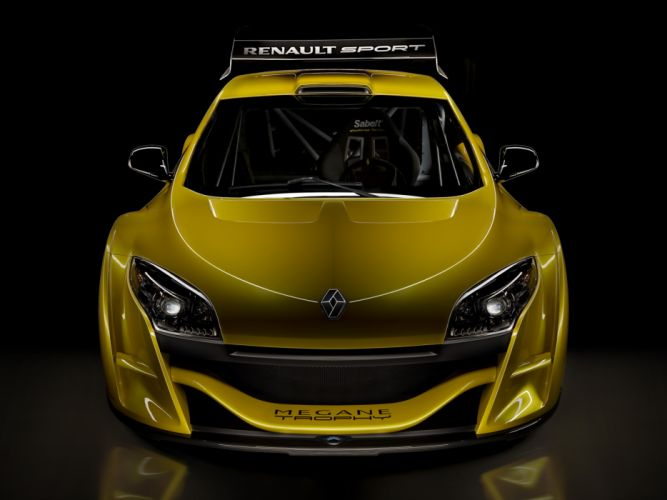 2009 Renault Megane Trophy race racing supercar supercars tuning f wallpaper
