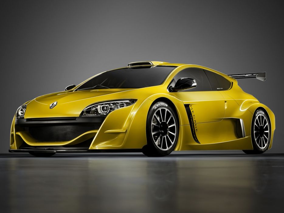 2009 Renault Megane Trophy race racing supercar supercars tuning d wallpaper