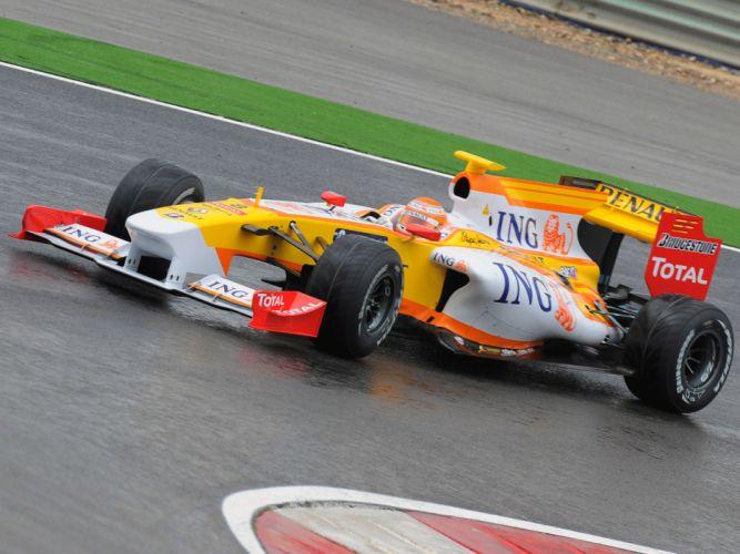 2009 Renault R29 formula one f-1 race racing f wallpaper