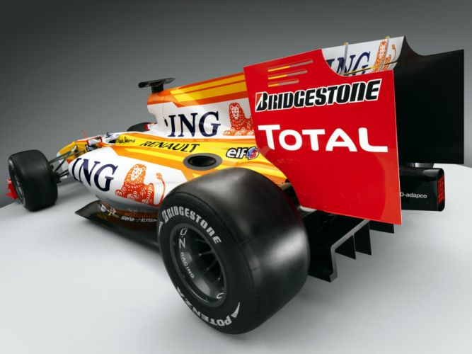 2009 Renault R29 formula one f-1 race racing wheel wheels f wallpaper