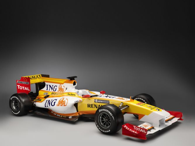 2009 Renault R29 formula one f-1 race racing wallpaper