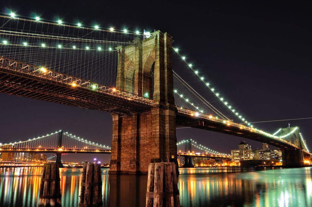 Manhattan  Brooklyn Bridge wallpaper