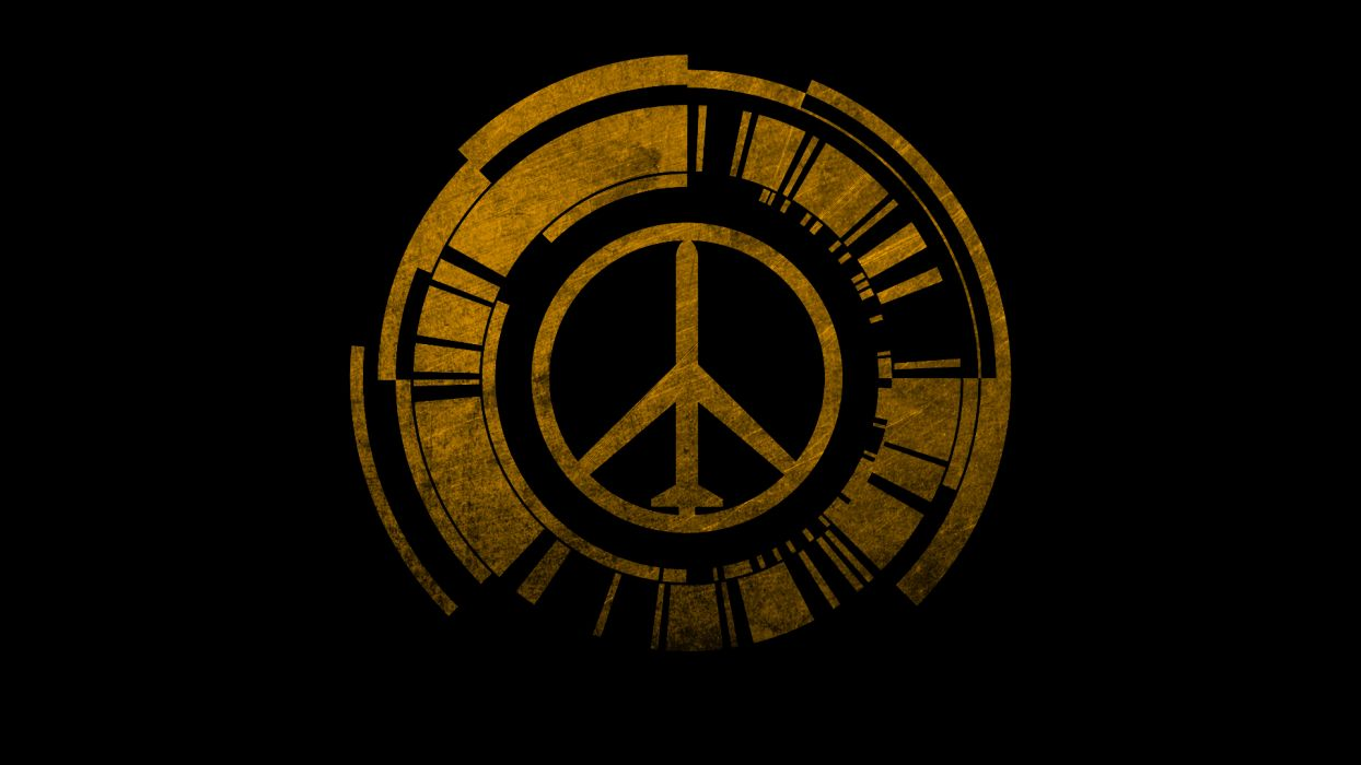 Metal Gear Solid Peace Walker logo wallpaper
