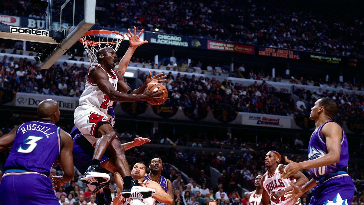 michael jordan chicago bulls nba basketball wallpaper