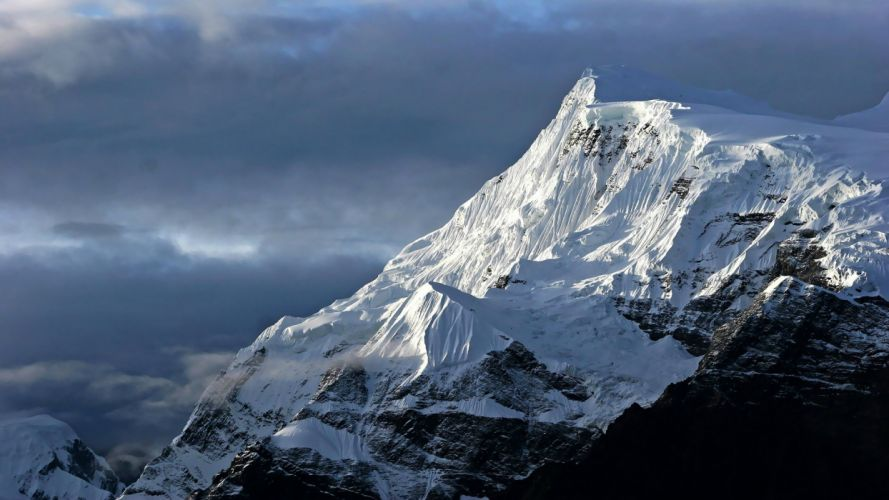 Mountains Landscape Snow wallpaper