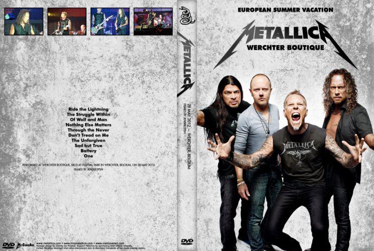 METALLICA thrash heavy metal re wallpaper