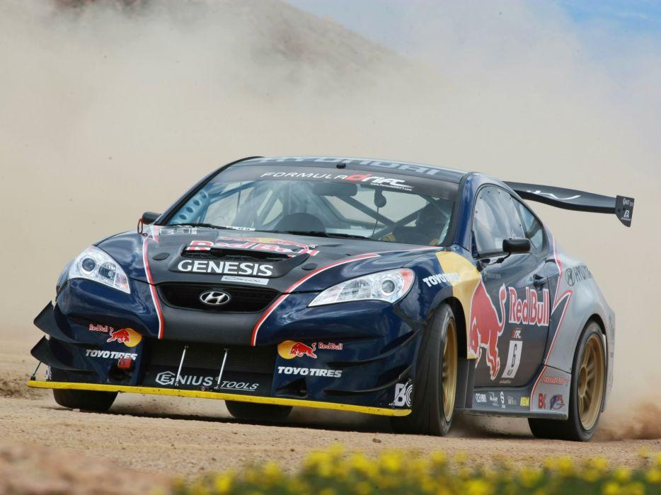 2009 RMR Red Bull Hyundai Genesis Coupe drift tuning race racing     dm wallpaper
