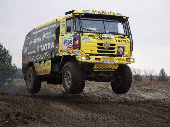 2009 Tatra T815 4x4 Rally Truck offroad race racing f wallpaper