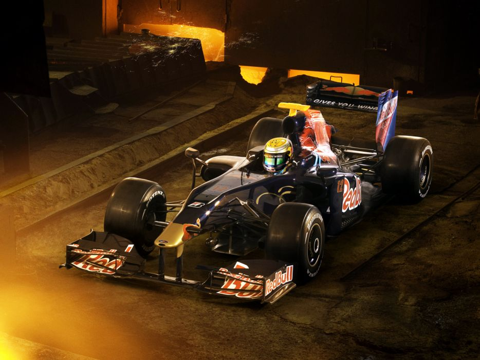 2009 Toro Rosso STR4 formula one f-1 formula-1 race racing bull red wallpaper