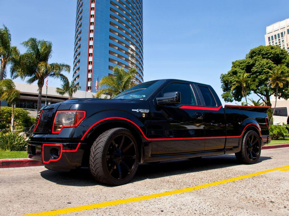 2012 Ford F-150 XLT supertruck tuning muscle custom truck fh wallpaper