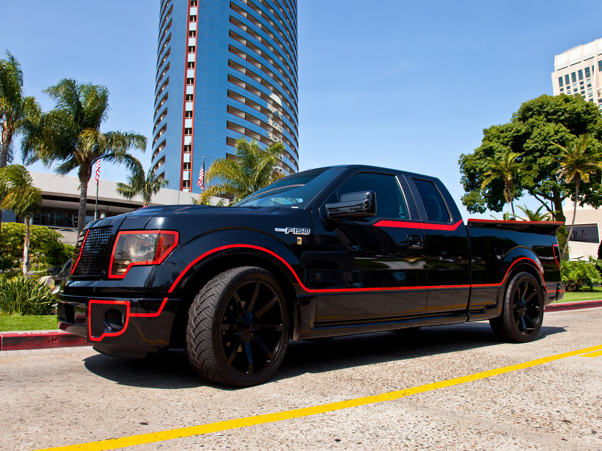 2012 Ford F 150 Xlt Supertruck Tuning Muscle Custom Truck