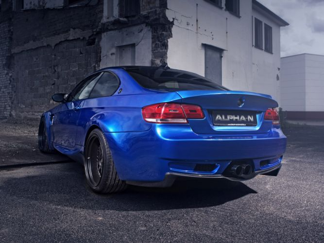 2013 Alpha-N BMW M3 E92 BT92 tuning f wallpaper