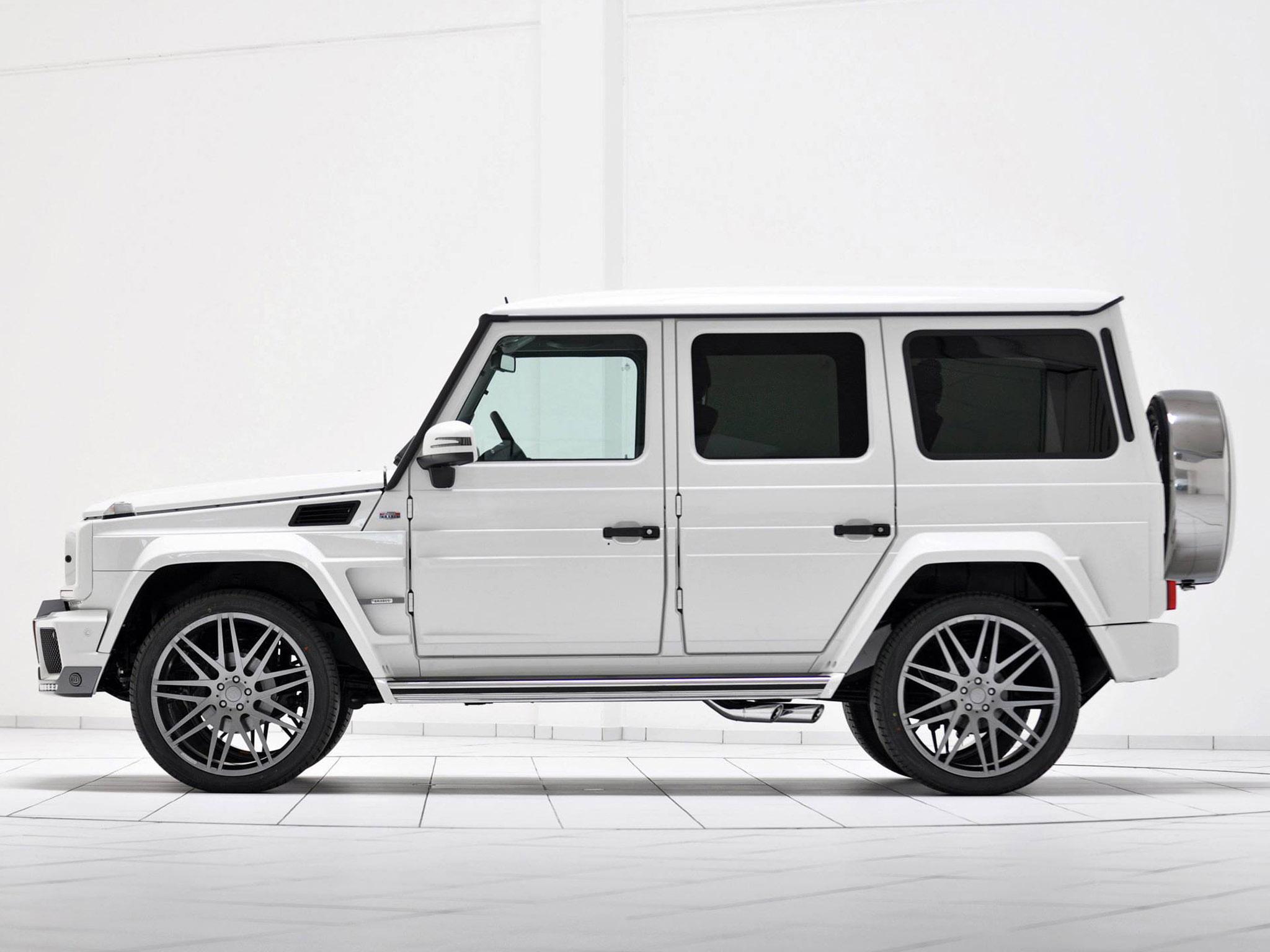 2013 brabus widestar mercedes benz g class 350 cdi suv tuning f wallpaper 2048x1536 123628 wallpaperup - White Mercedes Suv 2013