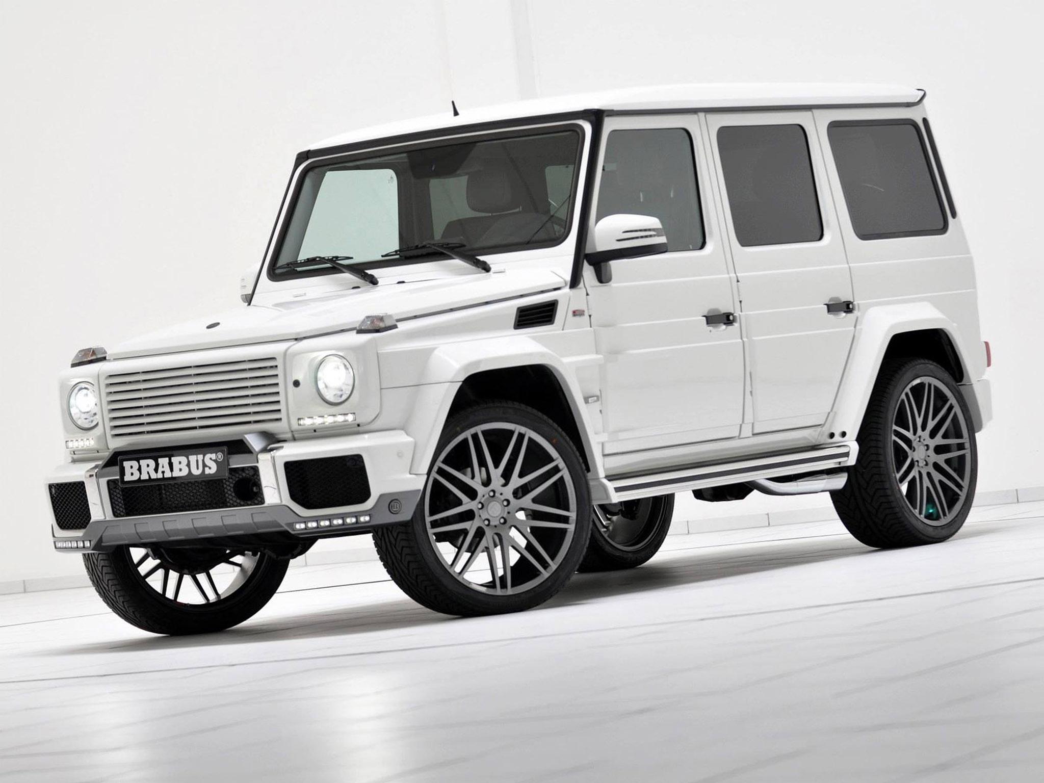 2013 brabus widestar mercedes benz g class 350 cdi suv tuning f wallpaper 2048x1536 123629 wallpaperup - White Mercedes Suv 2013