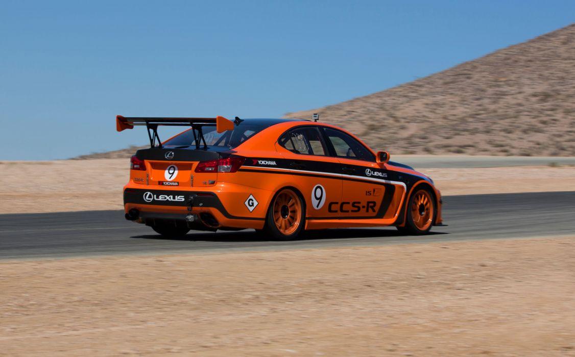 2013 Lexus IS-F CCS-R Pikes Peak race racing tuning   d wallpaper