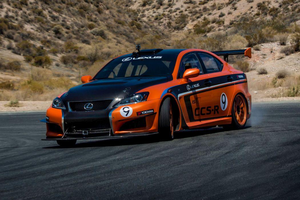 2013 Lexus IS-F CCS-R Pikes Peak race racing tuning   f wallpaper