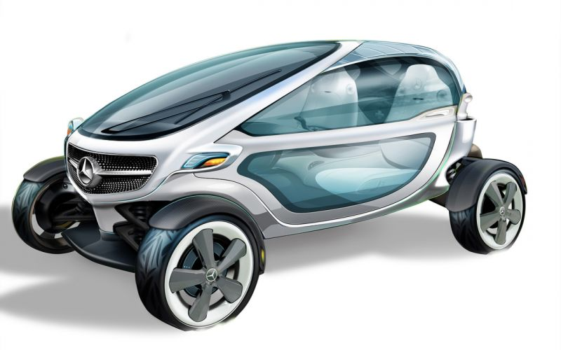 2013 Mercedes Benz Vision Golf Cart Design concept sports fw wallpaper